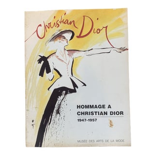 Vintage Christian Dior Book From Paris For Sale