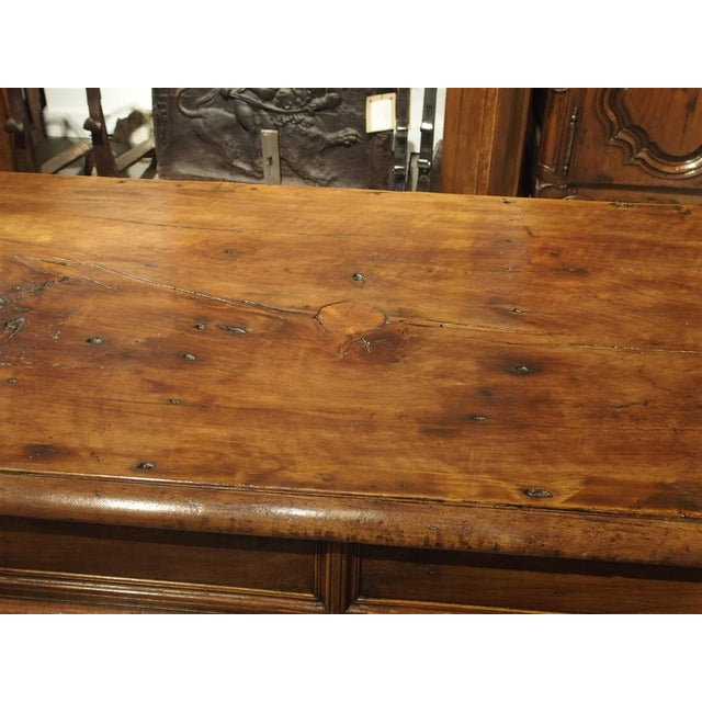 19th Century Walnut Wood Refectory Table From Italy For Sale - Image 4 of 12