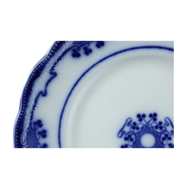 Flow Blue Lorne by Grindley Dinner Plate - Image 2 of 3