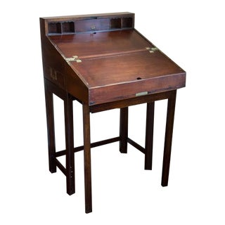 American Revolutionary War Officer's Campaign Desk For Sale