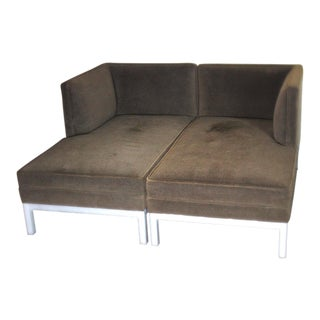 Jordan Modern Brown Chaise Lounge Daybed For Sale