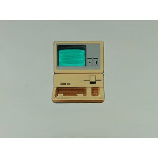 Classic Apple III Computer Painting by Wyatt McDill