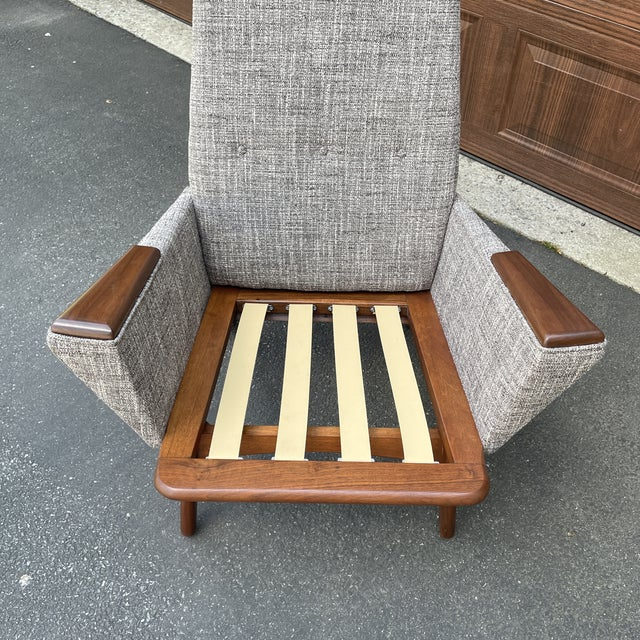 Mid 20th Century Mid 20th Century Lounge Chair Attributed to Adrian Pearsall For Sale - Image 5 of 6