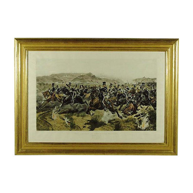 Charge of the Light Brigade Engraving For Sale