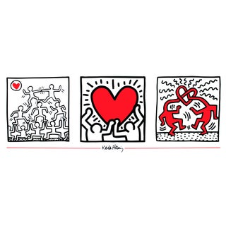 Keith Haring, Untitled (1987), 1995, Edition: 3000, Offset Lithograph, Poster For Sale
