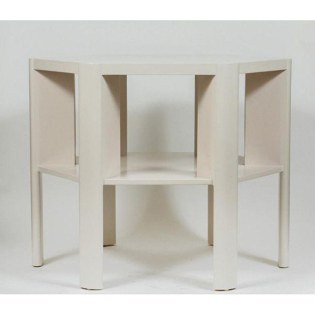 Contemporary Minimalist Modern Lacquered Library Table by Martin and Brockett For Sale - Image 3 of 7