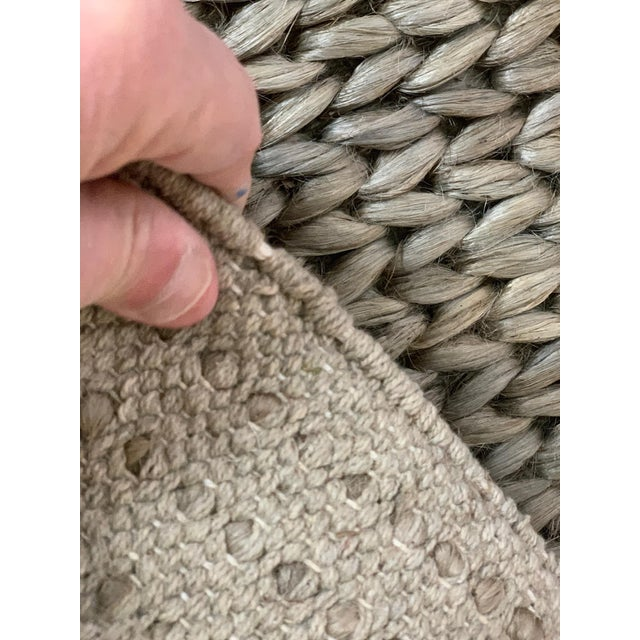 Textile Hand Woven Jute Rug-5' X 8' For Sale - Image 7 of 10