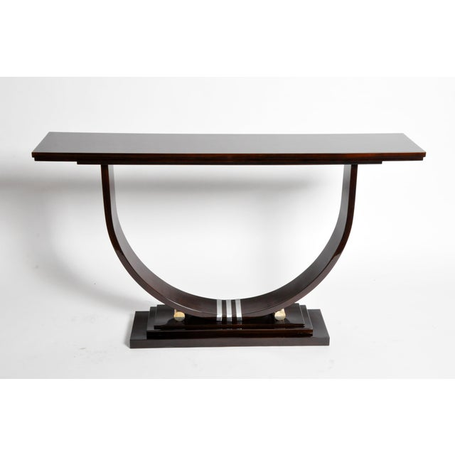 Mid-Century Style Side Console For Sale - Image 4 of 11
