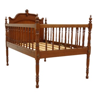 1900's Americana Oak Child Youth Bed For Sale