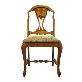 1920's Antique French Regency Boudoir Vanity Chair For Sale