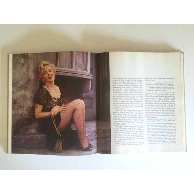 "Orange "" Marilyn Biography "" Norman Mailer Vintage 1973 Rare 1st Edtn Iconic Collector's Photography Book For Sale - Image 8 of 13"