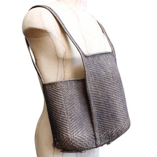 Rattan Hand Woven Backpack Preview