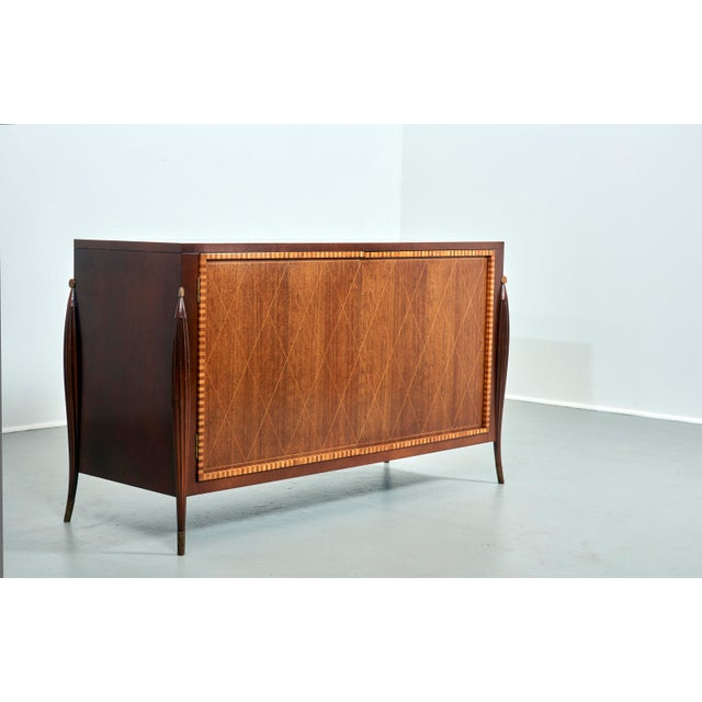 Baker Furniture Company Credenza by Baker Furniture, Circa 1980's For Sale - Image 4 of 8