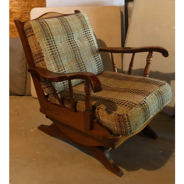 Rare find! This was purchased as part of a set in the sixties. It was reupholstered in the eighties and would benefit from...