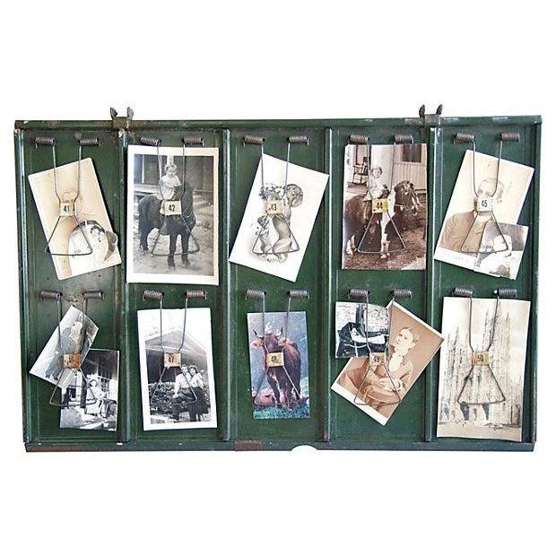Antique Photo & Memorabilia Display Board - Image 3 of 3