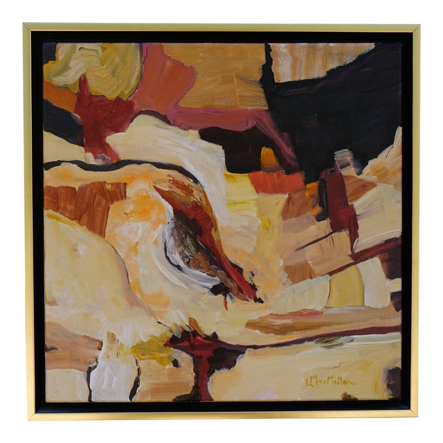 "Abstract Laurie MacMillan ""Southwest Syncline"" Landscape For Sale"