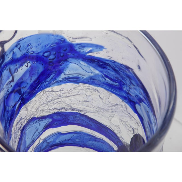 Murano Glass Vase For Sale - Image 9 of 11