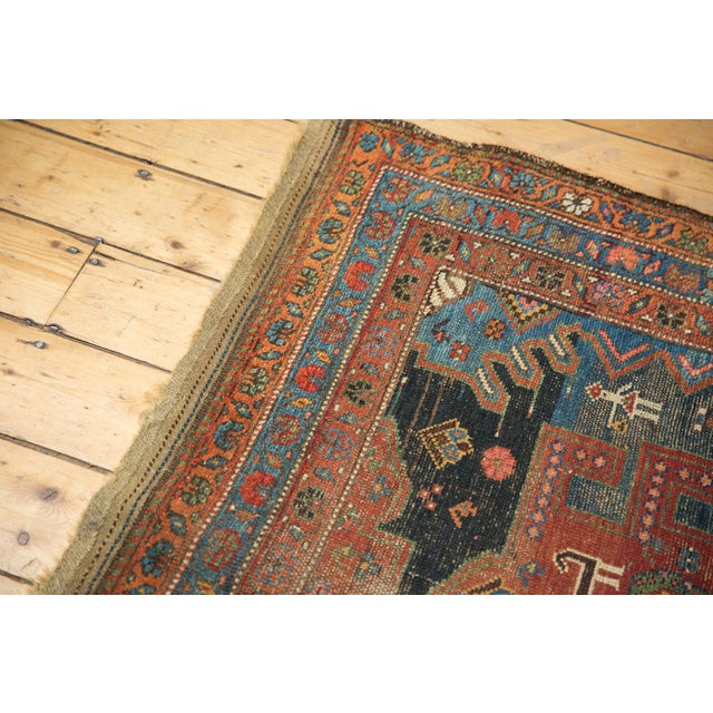 "Antique Hamadan Rug - 4'9"" X 7'11"" - Image 7 of 13"