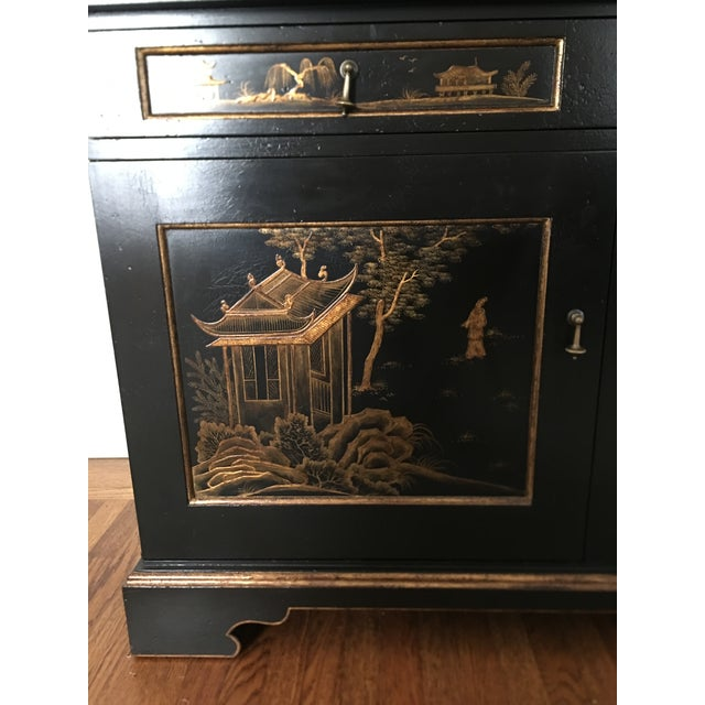 John Hall Designs Chinese Chippendale Cupboard For Sale - Image 5 of 11