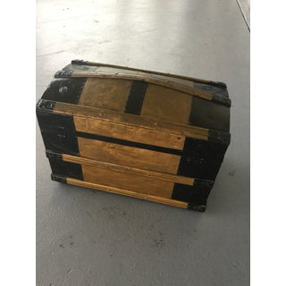 1900s Antique Travel Trunk Preview