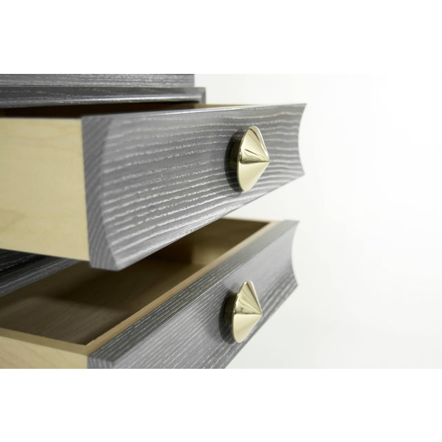 Stacked End Tables in Limed Oak For Sale - Image 10 of 12