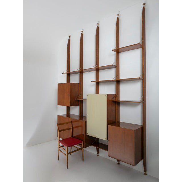 Italian 50s Bookcase For Sale - Image 10 of 11