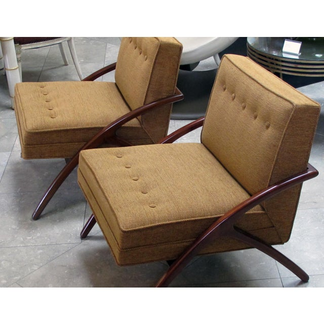 A Sleek and Stylish Pair of American 1960's Ash Grasshopper Chairs For Sale In San Francisco - Image 6 of 7