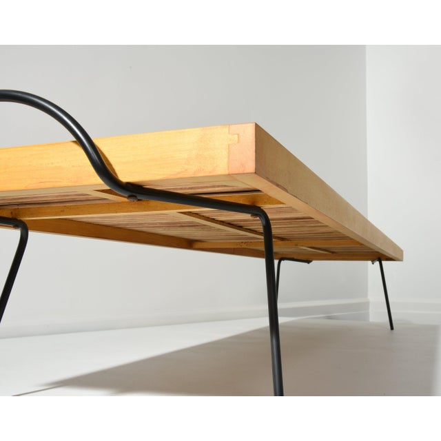 LAVERNE TABLE BY WILLIAM KATAVOLOS, ROSS LITTELL AND DOUGLAS KELLEY, 1940S For Sale In Detroit - Image 6 of 10