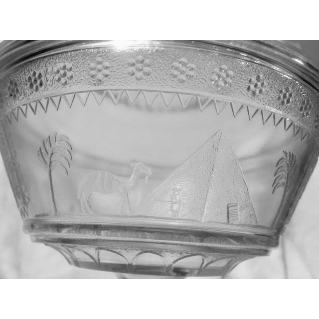 Adams Glass Egyptian Compote - Image 7 of 9