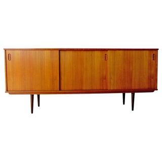 Danish Modern Teak Sideboard by Drylund For Sale
