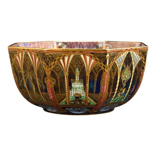 Wedgwood Fairyland Lustre Octagonal Bowl For Sale