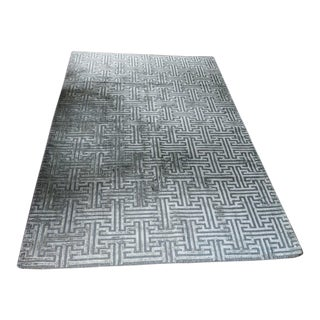 Ben Soleimani Greco Rug From Restoration Warehouse - 9′ × 6′ For Sale
