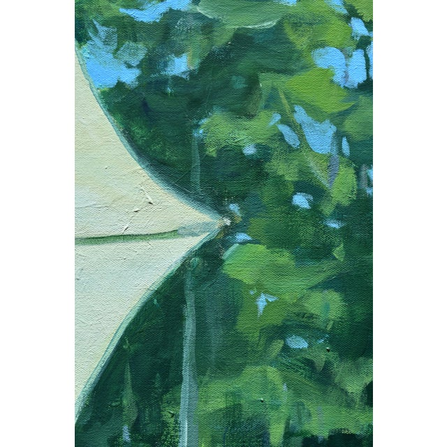 """Summer on the Back Deck"" Contemporary Painting by Stephen Remick For Sale In Providence - Image 6 of 13"