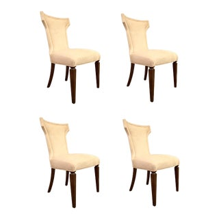 Caracole Modern Life of the Party Dining Chairs Set of Four For Sale