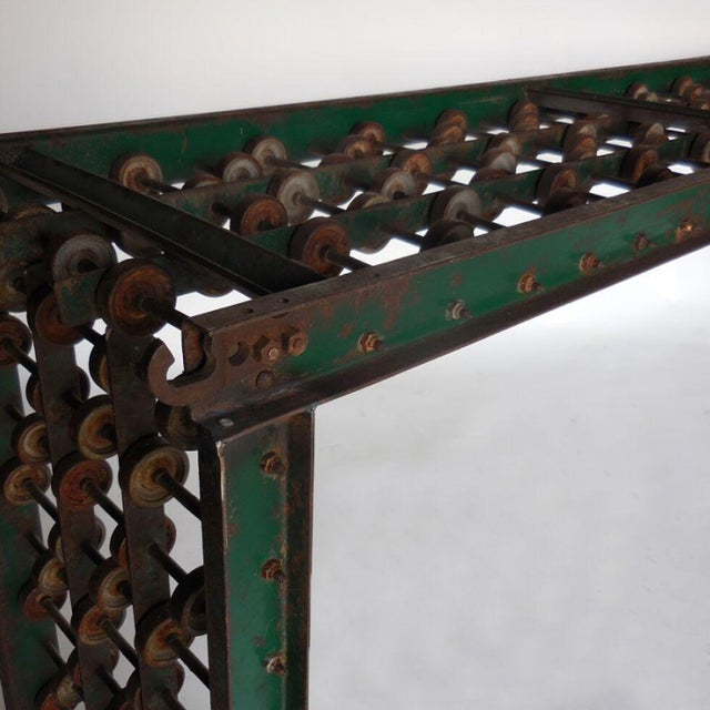 Early 20th Century Metal Steampunk Console For Sale - Image 5 of 10
