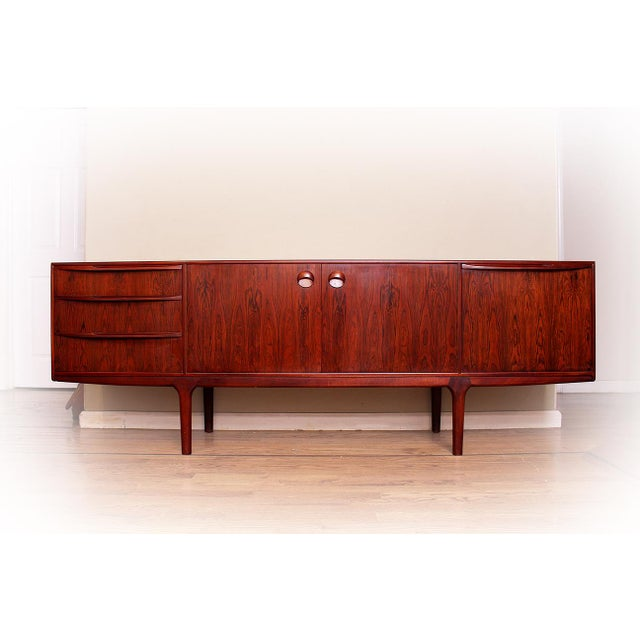 Mid 20th Century 1960's Mid Century Modern Rosewood Credenza For Sale - Image 5 of 5