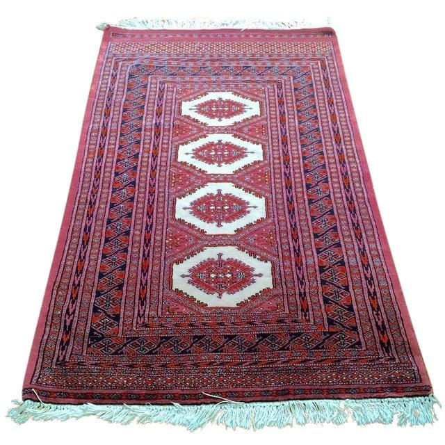 Bokhara Persian Wool Rug - 3′2″ × 5′8″ - Image 1 of 5
