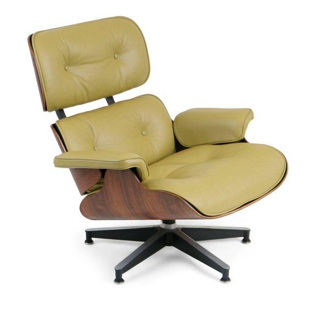 1960s Early Production Model 670/671 Lounge Chair & Ottoman by Charles & Ray Eames For Sale - Image 5 of 13