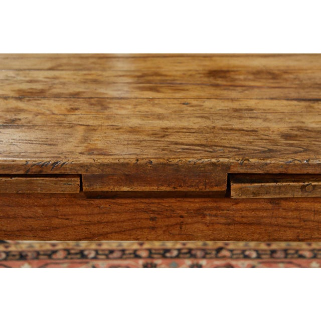 Early 19th Century French Country Dining Table With Pull Out Leaves For Sale - Image 5 of 12