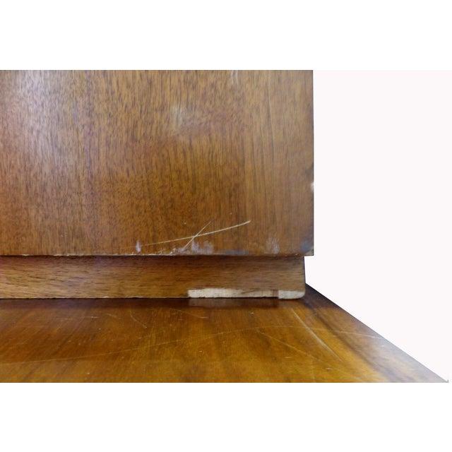 Mid-Century Modern Walnut Chest on Chest - 2 Pcs - Image 11 of 11