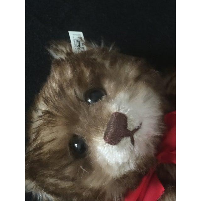 "1990s Antique Steiff Teddy Bear - Replica, 1926 ""Happy Anniversary"" Teddy Bear For Sale - Image 5 of 12"