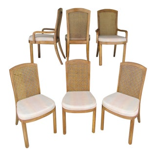 Late 20th Century Vintage Drexel Accolade Dining Chairs -Set of 6 For Sale