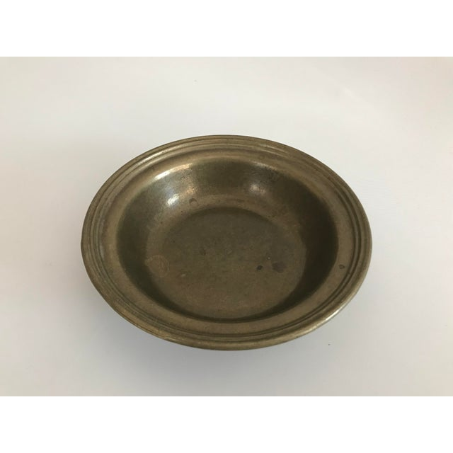Antique Turkish Anatolian Brass Plate For Sale In Phoenix - Image 6 of 6