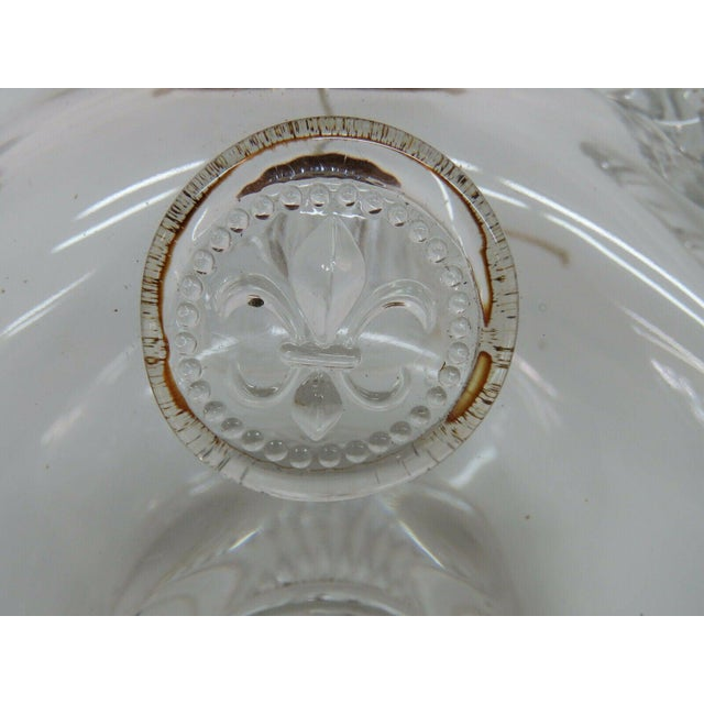 Remy Martin Louis XIII Empty Baccarat Crystal Cognac Bottle Box Set For Sale - Image 9 of 11