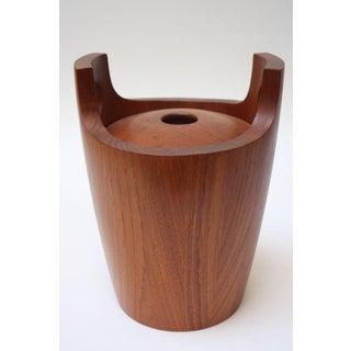 Danish Modern Staved Teak Ice Bucket by Nissen Preview
