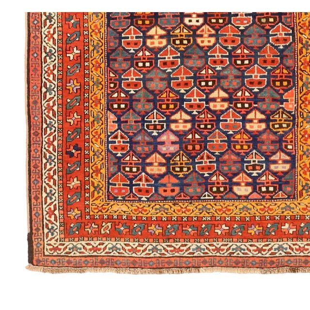 Persian 1930s Russian Area Rug Karebagh Design For Sale - Image 3 of 5