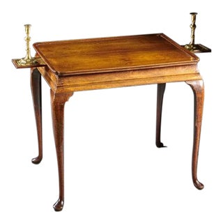 A Fine English Tea Table For Sale