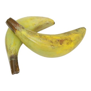 Italian Alabaster Bananas, S/2 For Sale