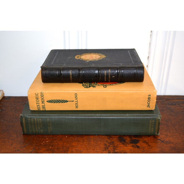 Antique Decorative Books - Set of Three - Image 2 of 11