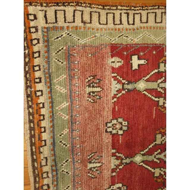 Vintage Tribal Rug - 3'8'' x 4'6' For Sale - Image 5 of 7